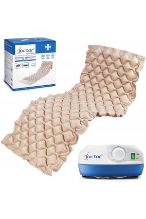 Materasso Antidecubito a bolle d'aria con compressore regolabile a ciclo alternato